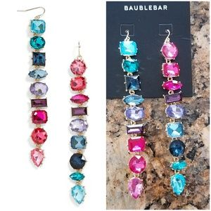 NEW BaubleBar Date Night Mismatched Drop Earrings